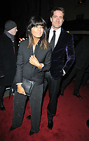 Claudia Winkleman and Kris Thykier at the Charles Finch &amp; Chanel Pre-BAFTAs Dinner, No. 5 Hertford Street (Loulou's), Hertford Street, London, England, UK, on Saturday 09th February 2019.<br /> CAP/CAN<br /> &copy;CAN/Capital Pictures