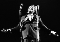 B.B. King performing in 1973. Credit: Ian Dickson/MediaPunch