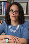 Jocelyn Carter, associate professor of clinical psychology, researches the impact of stress and trauma on child and adolescent development and directs the Healthy Families Lab at DePaul University. (DePaul University/Jeff Carrion)