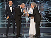 26.02.2017; Hollywood, USA: PWC BLUNDER OSCAR AWARDS<br /> For the first time in the 88-year history of the Oscars the wrong picture was announced as the winner of the Best Picture Award. Instead of &quot;Moonlight&quot; being announced as the winner, La LA Land was declared the winner by presenter Faye Dunaway.<br /> It appears the fault was that of the accountants Price Waterhouse Coopers whose representatives Martha Ruiz and Brian Cullinan are the onle people who know the results of the winners prior to the event.<br /> In a statement issued by the PWC they have apologised for their error.<br /> Pictures Shows: The young actor from &quot;Moonlight&quot; standing beside Warren Beatty is in a complete state of astonishment at the blunder that occured.<br /> Mandatory Photo Credit: &copy;AMPAS/NEWSPIX INTERNATIONAL<br /> <br /> IMMEDIATE CONFIRMATION OF USAGE REQUIRED:<br /> Newspix International, 31 Chinnery Hill, Bishop's Stortford, ENGLAND CM23 3PS<br /> Tel:+441279 324672  ; Fax: +441279656877<br /> Mobile:  07775681153<br /> e-mail: info@newspixinternational.co.uk<br /> Usage Implies Acceptance of Our Terms &amp; Conditions<br /> Please refer to usage terms. All Fees Payable To Newspix International