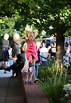 Mara Kuchnicki, 8, dances to the music the concert at the Carson City Off-Road, Nev., on Saturday, June 16, 2018. <br /> Photo by Cathleen Allison/Nevada Momentum