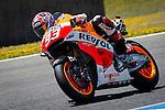 Jerez Circuit. Jerez de la Frontera. 04.05.2014. The rider Marc Marquez during the MotoGP race in Jerez.