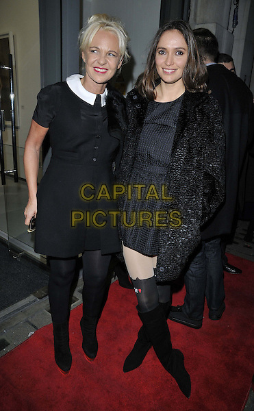 LONDON, ENGLAND - NOVEMBER 27: Amanda Eliasch &amp; Sasha Volkova attend the &quot;Mikhail Baryshnikov: Dancing Away&quot; photography collection private view, Contini Art UK, New Bond St., on Thursday November 27, 2014 in London, England, UK. <br /> CAP/CAN<br /> &copy;Can Nguyen/Capital Pictures