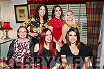 The Reach your Peak group enjoying a night out in Cassidys Restaurant on Saturday night. Seated l-r, Pamela Ryan, Liza Barrett and Nicole Rusk.<br /> Standing l-r, Sarah McLoughlin, Adrianne Heaslip and Sandra O&rsquo;Sullivan.