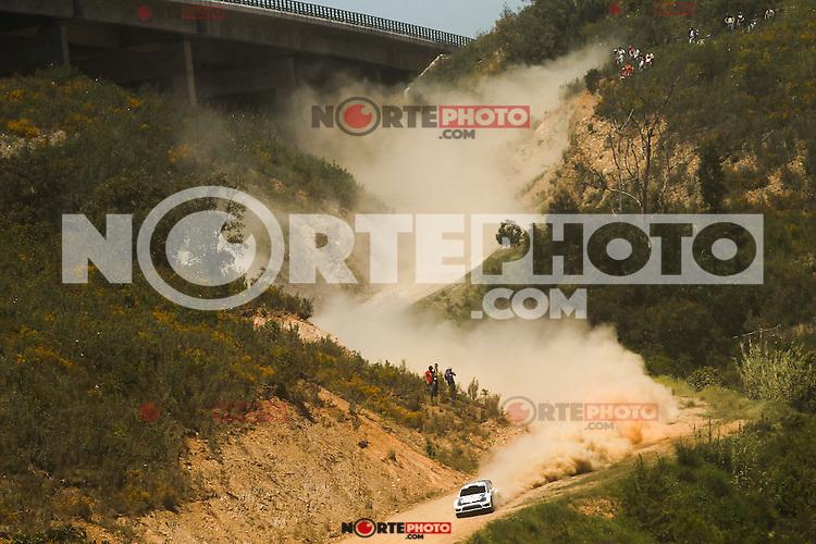 Sébastien Ogier and Julien Ingrassia, Volkswagen Polo R WRC of VOLKSWAGEN MOTORSPORT during WRC Vodafone Rally de Portugal 2013, in Algarve, Portugal on April 14, 2013 (Photo Credits: Paulo Oliveira/DPI/NortePhoto)