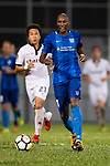 SC Kitchee Forward Alessandro Ferreira in action during the week two Premier League match between Kitchee and Dreams FC at on September 10, 2017 in Hong Kong, China. Photo by Marcio Rodrigo Machado / Power Sport Images