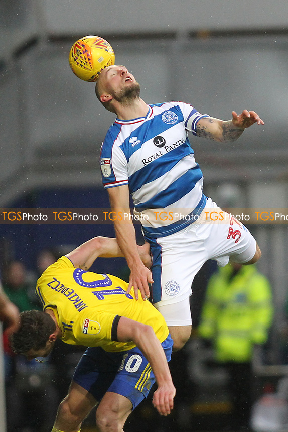 Toni Leistner of QPR during Queens Park Rangers vs Birmingham City, Sky Bet EFL Championship Football at Loftus Road Stadium on 9th February 2019