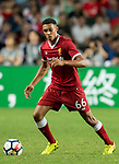 Liverpool FC defender Trent Alexander-Arnold in action during the Premier League Asia Trophy match between Liverpool FC and Leicester City FC at Hong Kong Stadium on 22 July 2017, in Hong Kong, China. Photo by Weixiang Lim / Power Sport Images