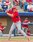 7 March 2015: St. Louis Cardinals outfielder Stephen Piscotty in Spring Training action against the Washington Nationals at Space Coast Stadium in Viera, Florida. The Cardinals fell to the Nationals 6-5 in Grapefruit League play. Mandatory Credit: Ed Wolfstein Photo *** RAW (NEF) Image File Available ***
