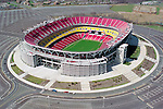 Aerial Image of Fed Ex Field, Home of the Washington Redskins. July 15, 200 in Landover, Maryland. ..