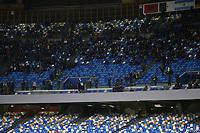 Napoli curves empty in protest<br /> Napoli 09-11-2019 Stadio San Paolo <br /> Football Serie A 2019/2020 <br /> SSC Napoli - Genoa CFC<br /> Photo Cesare Purini / Insidefoto