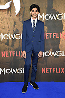 """Rohand Chand<br /> arriving for the""""Mowgli: Legend of the Jungle"""" premiere at the Curzon Mayfair, London<br /> <br /> ©Ash Knotek  D3464  04/12/2018"""