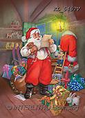 CHRISTMAS SANTA, SNOWMAN, WEIHNACHTSMÄNNER, SCHNEEMÄNNER, PAPÁ NOEL, MUÑECOS DE NIEVE, paintings+++++,KL5457V,#X#