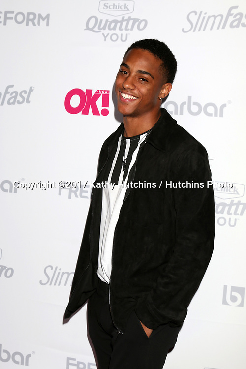 LOS ANGELES - MAY 17:  Keith Powers at the OK! Magazine Summer Kick-Off Party at the W Hollywood Hotel on May 17, 2017 in Los Angeles, CA