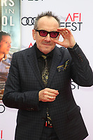 HOLLYWOOD, CA - NOVEMBER 12: Elvis Costello at the Film Stars Won't Die In Liverpool Special Screening at the TCL Chinese Theatre in Hollywood, California on November 12, 2017. Credit: Faye Sadou/MediaPunch /NortePhoto.com