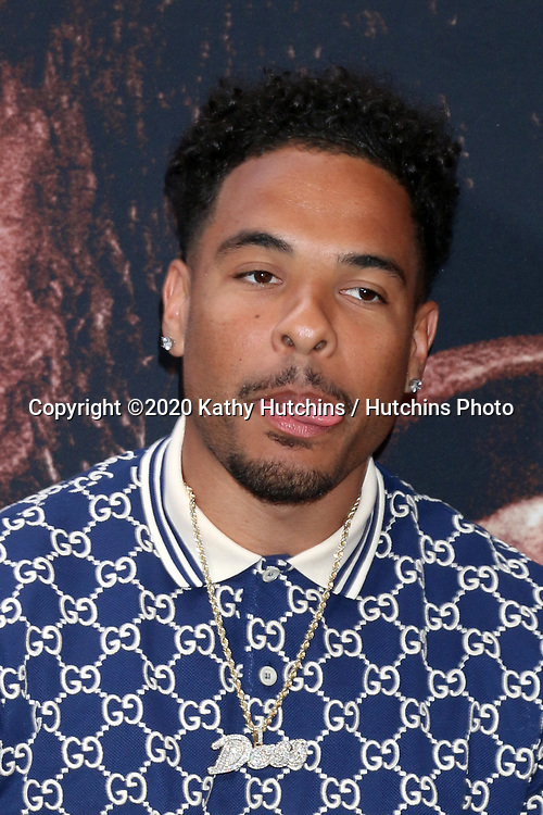 LOS ANGELES - MAR 1:  Keelan Doss at the The Way Back Premiere at the Regal LA Live on March 1, 2020 in Los Angeles, CA