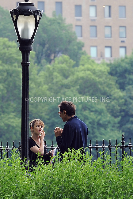 WWW.ACEPIXS.COM . . . . . ....June 8 2009, New York City....Actors Rachel McAdams and Jeff Goldblum on the Central Park set of the new movie 'Morning Glory' on June 8 2009 in New York City......Please byline: KRISTIN CALLAHAN - ACEPIXS.COM.. . . . . . ..Ace Pictures, Inc:  ..tel: (212) 243 8787 or (646) 769 0430..e-mail: info@acepixs.com..web: http://www.acepixs.com