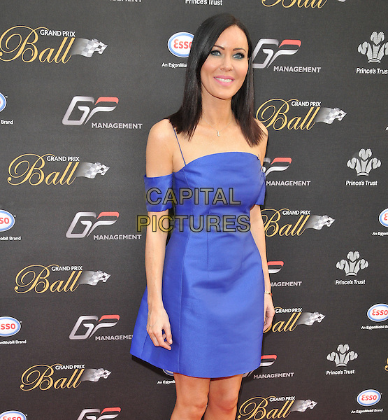 LONDON, ENGLAND - JULY 01: Linzi Stoppard attends the Grand Prix Ball, The Hurlingham Club, Ranelagh Gardens, on Wednesday July 01, 2015 in London, England, UK. <br /> CAP/CAN<br /> &copy;CAN/Capital Pictures