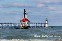 64795-02712 St. Joseph North Pier Lighthouses St. Joseph, MI