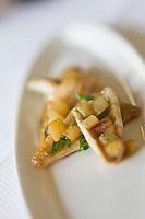 Europe/France/Rhône-Alpes/74/Haute-Savoie/Évian-les-Bains:  Petites perches meunière recette de Patrice Vander  chef des restaurants de Hôtel: Evian Royal Resort
