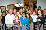 Jane O'Donoghue,Oakpark,Tralee ( centre ) got a fab surprise from her loving husband James 0n December 19th last when she called to collect her sister Jacqueline and have dinner in a restaurant only to find a big surprise party organised for her 50th birthday.