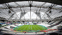 07 October 2015: General view of the Queen Elizabeth Olympic Park stadium during Match 31 of the Rugby World Cup 2015 between South Africa and USA - Queen Elizabeth Olympic Park, London, England (Photo by Rob Munro/CSM)
