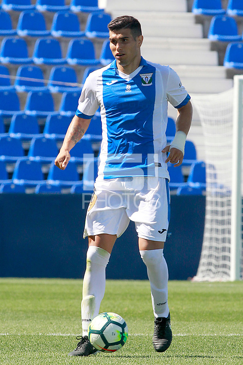 CD Leganes' Ezequiel Matias Munoz during friendly match. August 12,2017.  *** Local Caption *** &copy; pixathlon<br /> Contact: +49-40-22 63 02 60 , info@pixathlon.de