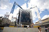 Caracas_VEN, Venezuela...Escultura no centro de Caracas, Capital da Venezuela...Sculpture in Caracas downtown , capital of Venezuela...Foto: JOAO MARCOS ROSA / NITRO
