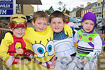 John Hughes, Lee Phelan, Sean Kelly and Conor Moynihan Rathmore having fun at Rathmore Fair on Sunday.