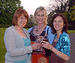 Geraldine Sheedy, right, with  Teresa Tancrad and  Linda Eviston at an  Alliance Francaise night in  Killarney..Picture: Eamonn Keogh (MacMonagle,Killarney)..©macmonagle.com