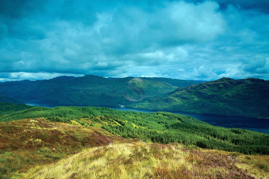 Loch Lomond from Cruach Tairbeirt, Loch Lomond and the Trossachs National Park, Argyll & Bute