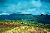 Loch Lomond from Cruach Tairbeirt, Loch Lomond and the Trossachs National Park, Argyll & Bute