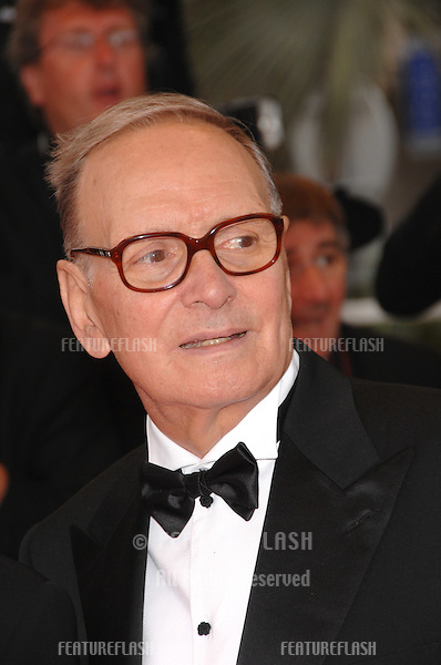 "Ennio Morricone at screening for ""We Own the Night"" at the 60th Annual International Film Festival de Cannes..May 25, 2007  Cannes, France..© 2007 Paul Smith / Featureflash"