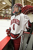 Hilary Hayssen (Harvard - 4) - The visiting Dartmouth College Big Green defeated the Harvard University Crimson 3-2 on Wednesday, November 23, 2011, at Bright Hockey Center in Cambridge, Massachusetts.