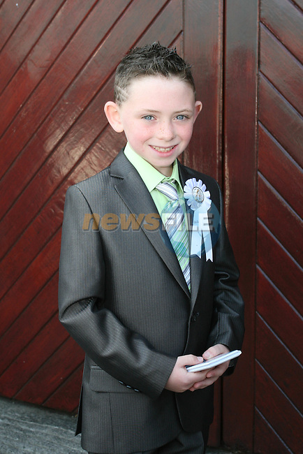 Sean Collins at the St. Marys Congress Avenue Communion in St. Marys Church...Photo NEWSFILE/Jenny Matthews.(Photo credit should read Jenny Matthews/NEWSFILE)....This Picture has been sent you under the condtions enclosed by:.Newsfile Ltd..The Studio,.Millmount Abbey,.Drogheda,.Co Meath..Ireland..Tel: +353(0)41-9871240.Fax: +353(0)41-9871260.GSM: +353(0)86-2500958.email: pictures@newsfile.ie.www.newsfile.ie.FTP: 193.120.102.198.