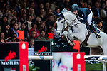 Katharina Offel of Ukraine riding Charlie in action at the Gucci Gold Cup during the Longines Hong Kong Masters 2015 at the AsiaWorld Expo on 14 February 2015 in Hong Kong, China. Photo by Xaume Olleros / Power Sport Images