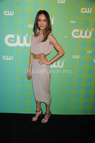 Maggie Q at The CW Network's 2012 Upfront at New York City Center on May 17, 2012 in New York City. . Credit: Dennis Van Tine/MediaPunch