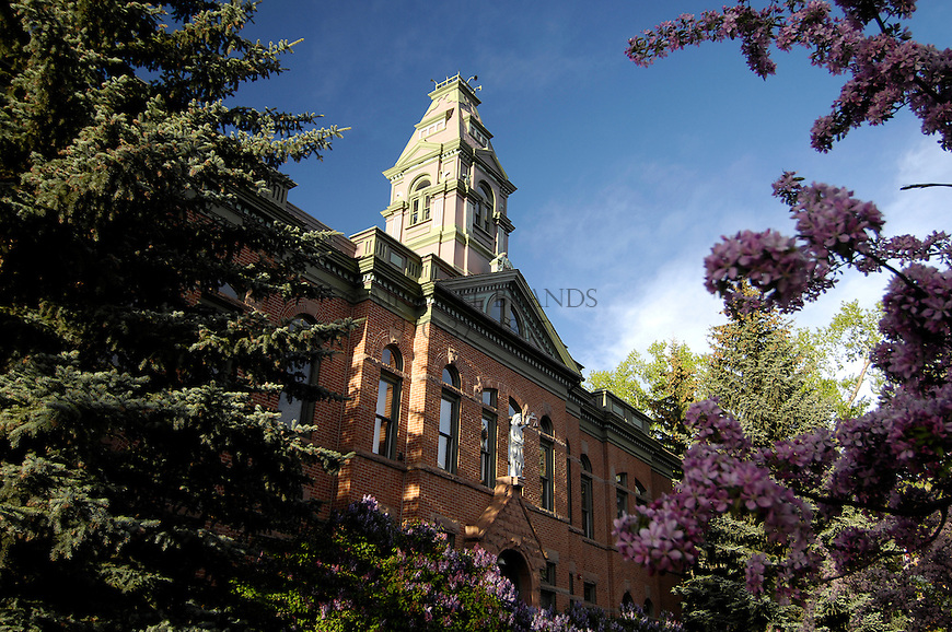 Pitkin County Courthouse, Aspen, Colorado. © Michael Brands. 970-379-1885.