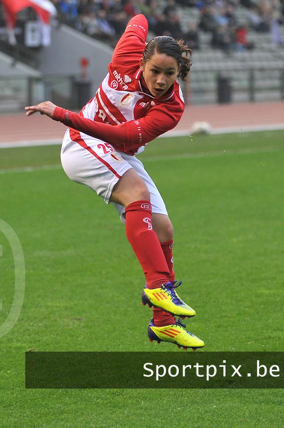 RSC Anderlecht Dames - Standard Femina de Liege : Lola Wajnblum.foto JOKE VUYLSTEKE / Vrouwenteam.be