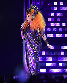 SUNRISE FL - JANUARY 19: Cher performs during the 'Here We Go Again' tour at The BB&T Center on January 19, 2019 in Sunrise, Florida. Photo by Larry Marano © 2019