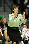 03 APR 2012: Coach Muffet McGraw of Notre Dame during the Division I Women's Basketball Championship held at the Pepsi Center in Denver, CO. Stephen Nowland/NCAA Photos