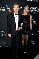 Nicholas Guest &amp; Pamela Guest at the 2017 AMD British Academy Britannia Awards at the Beverly Hilton Hotel, USA 27 Oct. 2017<br /> Picture: Paul Smith/Featureflash/SilverHub 0208 004 5359 sales@silverhubmedia.com