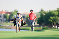 Jon Rahm (ESP) on the 18th fairway during the final round of the DP World Tour Championship, Jumeirah Golf Estates, Dubai, United Arab Emirates. 24/11/2019<br /> Picture: Golffile | Fran Caffrey<br /> <br /> <br /> All photo usage must carry mandatory copyright credit (© Golffile | Fran Caffrey)