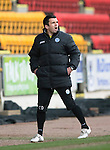 St Johnstone v Hibs...22.03.14    SPFL<br /> Callum Davidson shouts instructions<br /> Picture by Graeme Hart.<br /> Copyright Perthshire Picture Agency<br /> Tel: 01738 623350  Mobile: 07990 594431