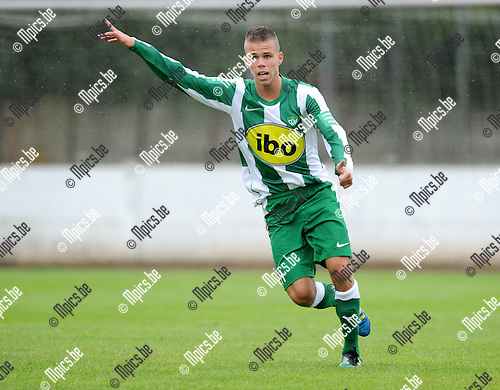 2012-07-15 / Voetbal / seizoen 2012-2013 / Racing Mechelen / Megan Laurent..Foto: Mpics.be