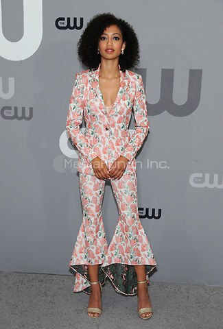 NEW YORK, NY - MAY 17: Samantha Logan at the 2018 CW Network Upfront at The London Hotel on May 17, 2018 in New York City. Credit: John Palmer/MediaPunch