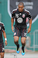 D.C. United defender Ethan White (15)  File photo RFK stadium 2011 season.