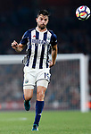 West Brom's Jay Rodriguez in action during the premier league match at the Emirates Stadium, London. Picture date 25th September 2017. Picture credit should read: David Klein/Sportimage