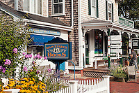 Quaint shops along Main Street , Orleans, Cape Cod, MA, USA