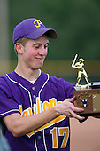 Matt Kruppner of the Pavilion Golden Gophers after winning the Section V Class-CC Championship on June 1, 2007.  (Copyright Mike Janes Photography)